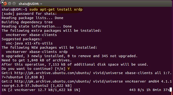 Connect Remotely Ubuntu via Windows Remote Desktop | XeonBD Blog